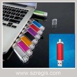 4GB/8GB/16GB/32GB OTG USB Flash Memory Drive Disk Sticker