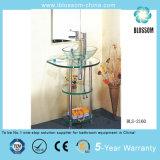 Bathroom Strengthened Glass Bath Vanity (BLS-2160)