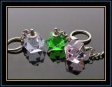 Geometry Crystal Key Rings (KC02)