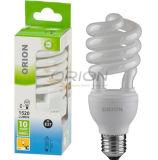 Super-Compact T4 25W, 30W Half Spiral Compact Fluorescent Bulb