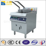 380V Induction Deep Fryer Fry Chicken Stove with CE