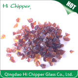 Purple Lampwork Colored Glass Chips