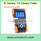 Handheld 3.5 Inch CCTV Tester Monitor for HD-Tvi & Onvif IP Camera & Analog Security Camera