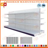 Double Sided Metal Supermarket Shelf for Store Shelving Unit (Zhs9)