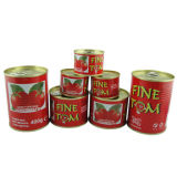 Canned Tomato Paste (FINE TOM 70g, 210g, 400g)
