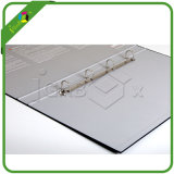 Hot Sales Black Cardboard Business A4 File Folder 4 Ring Rinder