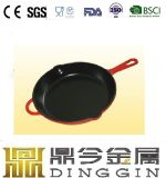 Cast Iron Frying Pan/Wooden Handle Frying Pan