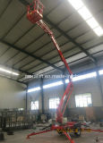 2016 New Product Aerial Work Articulated Trailer Boom Lift