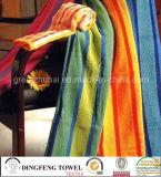 100% Cotton Color Jacqyard Velour Bath Towel Df-3267