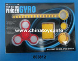 Toy Manufacture Pull Ruler Finger Tip Top with Light (803812)