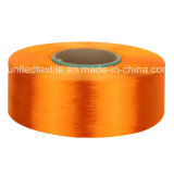 100% Polyester Dope-Dyed Weaving Yarn with 300d/96f SD POY