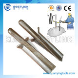 Manual Wedges and Shims for Splitting Stone