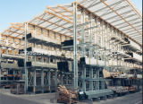 Warehouse Storage Heavy Duty Adjustable Cantilever Rack with Roof Design
