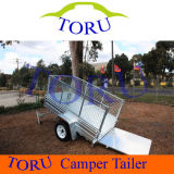 Stainless Steel 7X4 Box Trailer Trailer