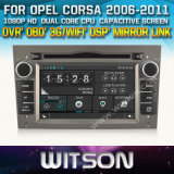 Witson Car DVD GPS for Opel Corsa (W2-D8828L) with Capacitive Screen Bluntooth 3G WiFi CD Copy