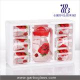 7PCS Glass Water Drinking Set, Glass Jug Set, Glassware Set (GB12049-YH1)