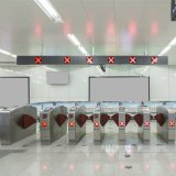 Multi Identifications Retracting Wing Optical Ticket Barrier Access Control
