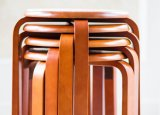 Solid Wooden Stool Round Stool (M-X2102)