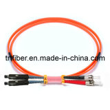 Mu-St Om2 Dx Fiber Optic Patch Cord (optical fiber jumper)