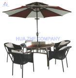 3m Double Roof Round Umbrella Outdoor Parasol