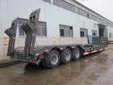 Ctac Brand Hot Selling Tri-Axles Hydraulic Low Bed Semi Railer
