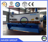 Plate cutting machine, QC12Y/K series hydraulic swing beam shear with good price