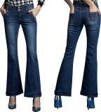 Women Fashion Bootcut Jeans (JC1128)