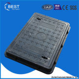 600X400mm Composite BMC Sewer Manhole Cover with Handle
