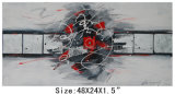 Wholesale Handmade Decorative Abstract Painting (LH-700565)