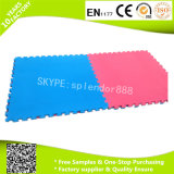 100*100*2.5 Cm Yellow and Blue Color Soft EVA Foam Interlock Eco-Friendly Flooring Mat