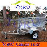 Small Low Price Flatbed Strong Box Utility Trailer for Sale