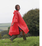 Adult Custom Cheap Raincoat Hooded Waterproof Rain Coat Poncho