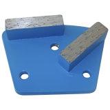 Single Round Diamond Concrete Tools Metal Polishing Pads for Marble/Granite/Concrete