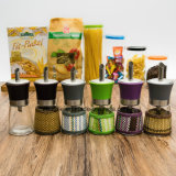 Factory Wholesale Colorful Olive Oil Glass Bottle (100004)