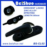 Aluminum Sliding Window Lock Crescent Lock Half Moon Lock for UPVC Sliding Double Glass Window
