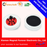 Custom Popular Whiteboard Plastic Magnetic Button with RoHS Certification