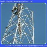 Galvanized 4 Legged Column Tubular Telecommunication Tower