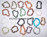 Semi Precious Stone Natural Crystal Amethyst Chips Tumbled Charming Bracelet Jewellery