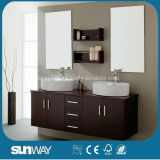 2014 Painting Wood Bathroom Furniture with Good Quality