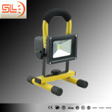 Ce Approved IP65 20W Rechargeable LED Floodlight