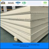 ISO, SGS 100mm Color Steel PIR Sandwich Panel for Meat/ Vegetables/ Fruit