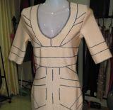 Geometry Stripe Wedding Dress