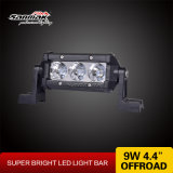"Black Aluminum Housing 5"" CREE 3W Auto LED Light Bar"