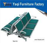 Cushioned Aluminum Alloy Hospital Waiting Chair (YA-113)