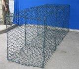 80*100mm PVC Coated Gabion Mattress/Gabion Box for Stone Cage
