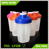 400ml BPA Free Shaker Cup Plastic Protein Shaker Bottle