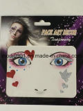 Wholesale Custom Face Glitter Removable Sticker, Face/Eye Art Deco
