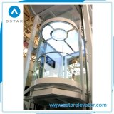 Round-Shaped and Glass Observation Lift, Panoramic Passenger Elevator