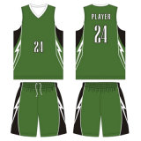 Custom Team Sublimated Basketball Uniform for Your Academy