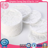 Soft Round Shape 100% Cotton Cosmetic Makeup Remover Pads